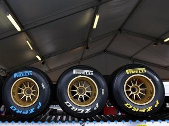 Pirelli скопировала маркировку шин для Формулы-1 у Bridgestone