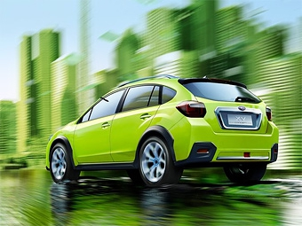 Компания Subaru предложила свое видение компактных кроссоверов