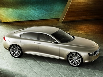 Марка Volvo показала в Шанхае прототип роскошного седана