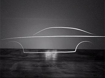 Марка Volvo показала силуэт нового большого седана