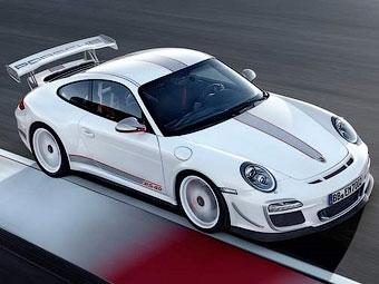 Появились фотографии 500-сильной версии суперкара Porsche 911 GT3 RS