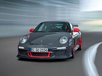 Porsche выпустит 500-сильную версию трекового суперкара 911 GT3 RS