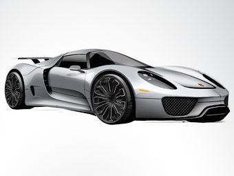 Гибридный суперкар Porsche будет стоить 645 тысяч евро
