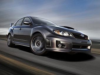 В России начались продажи обновленных Subaru Impreza WRX STI