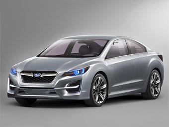 """Компания Subaru показала прототип новой """"Импрезы"""""""