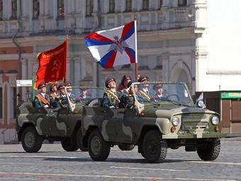 Празднование дня Победы остановит движение в центре Москвы