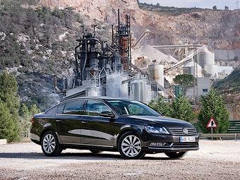 Стали известны российские цены на новый VW Passat