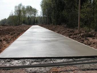 Россия откажется от асфальтовых дорог в пользу бетонных