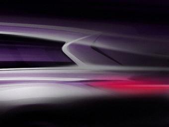 Компания Infiniti опубликовала первый скетч нового внедорожника