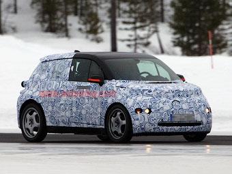 Компания BMW начала испытания маленького электрокара i3
