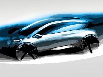 Электрокар BMW Megacity получит составной кузов