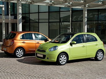 """Nissan построит на базе """"Микры"""" две новые модели"""