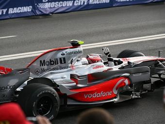 Болиды Формулы-1 McLaren проедут по улицам Москвы