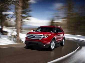 Внедорожник Ford Explorer появится в России в середине 2011 года