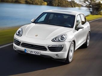 Покупатели гибридного Porsche Cayenne в США получат налоговые льготы