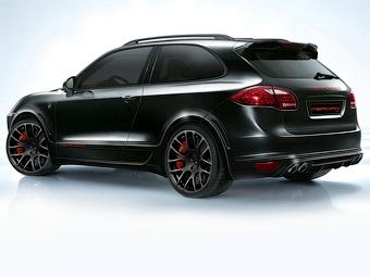 На базе Porsche Cayenne построили купе с динамикой суперкара