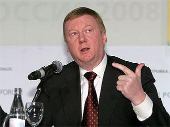 Чубайс согласился решить проблему пробок в России