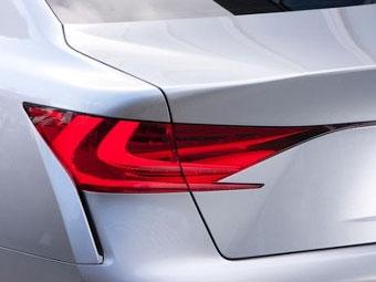Появились первые изображения нового гибрида Lexus