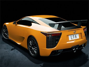 Lexus показал экстремальную версию суперкара LFA