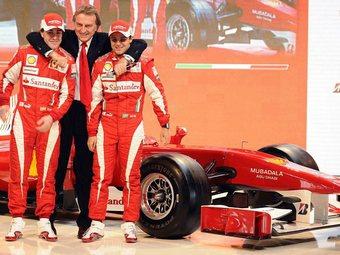 Новый болид Ferrari назовут в честь 150-летия объединения Италии