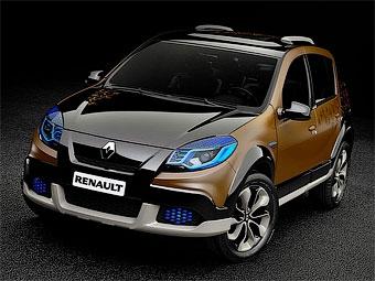 Бразильцы разукрасили тюнинговый Renault Sandero Stepway цветами