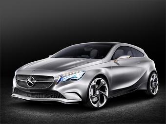 Mercedes-Benz привезет в Шанхай прототип новой трехдверки A-Class