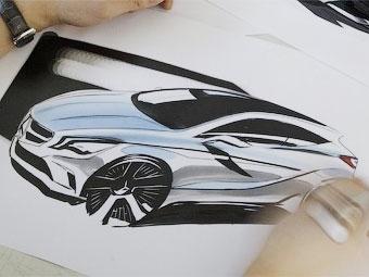 Появилось первое официальное изображение нового Mercedes-Benz A-Class