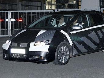 Honda начала испытания нового хэтчбека Civic для Европы