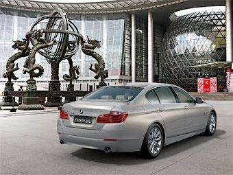"""Марка BMW разработала для китайцев подзаряжаемую от розетки """"пятерку"""""""