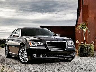 Седан Chrysler 300C получит шесть вариантов решетки радиатора