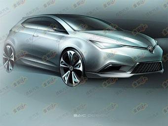 Британская марка MG покажет в Шанхае конкурента Ford Focus