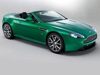 Aston Martin представил самую мощную версию спорткара V8 Vantage