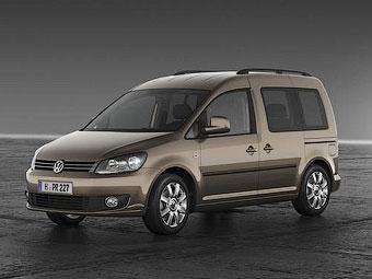 Рассекречен Volkswagen Caddy нового поколения