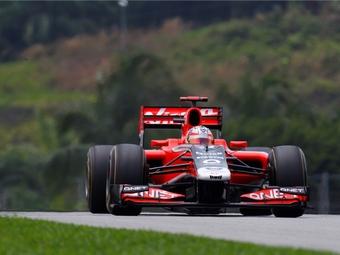 Обновления сделают болиды Marussia Virgin быстрее на две секунды