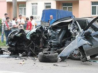 В России выросла смертность на дорогах