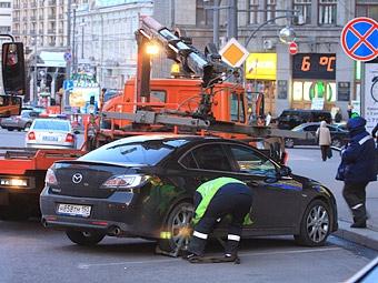 В Москве появится закон о парковках