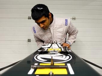 Карун Чандхок стал четвертым резервным пилотом Team Lotus
