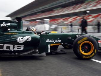 Team Lotus пустит за руль третьего пилота