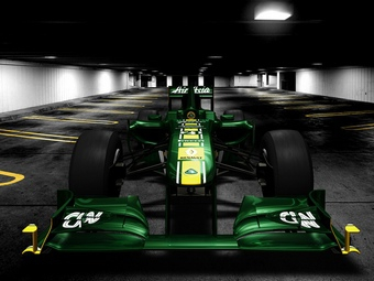 Команда Team Lotus обнародовала фотографии нового болида T128