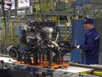 Производство автомобилей в России увеличилось вдвое