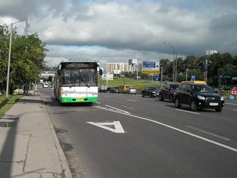На Садовом кольце появятся полосы для общественного транспорта