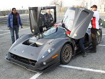 Трековый суперкар на базе Ferrari F430 приступил к тестам