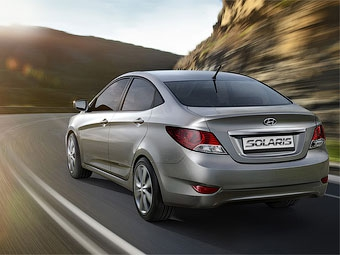 В России началось производство бюджетного седана Hyundai