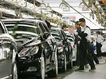 Производство автомобилей Toyota восстановится не раньше декабря