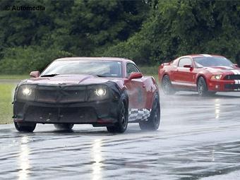 Самый мощный Chevrolet Camaro приступил к тестам