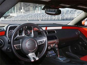Chevrolet Camaro получит новый интерьер