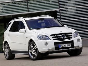 """Mercedes-Benz обновил """"заряженный"""" внедорожник ML 63 AMG"""