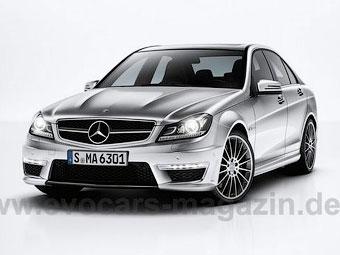 Появились фотографии AMG-версии обновленного Mercedes-Benz C-Class