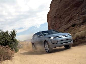 Первый гибрид Mitsubishi появится в 2013 году