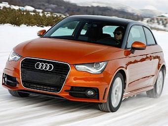 Компания Audi показала тестовый прототип полноприводного хэтчбека A1